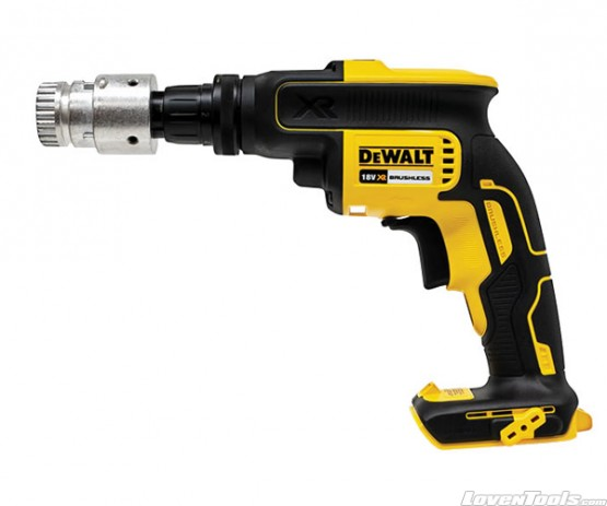 DeWALT DCF622N Screwdriver Skin Fitted With QD Adapter DCF622NG2