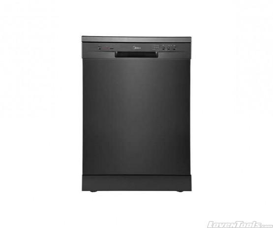 Midea JHDW143BK 14 Place settings dishwasher Black Steel JHDW143BK
