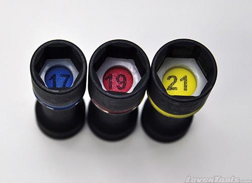 DEEN Impact Socket Set DNBP4303HSET