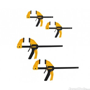 DeWALT DWHT83196 Medium and Large Trigger Clamp (4-Pack) DWHT83196