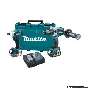 Makita XT252M LXT Lithium Ion Brushless Cordless XT252M Combo Kit