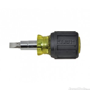 KLEIN TOOLS Stubby Screwdriver/ Nut Driver with Cushion Grip 32561