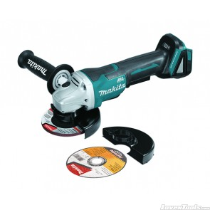 "Makita XAG11Z Brushless Cordless 4-1/2 / 5"" Angle Grinder, Tool Only"