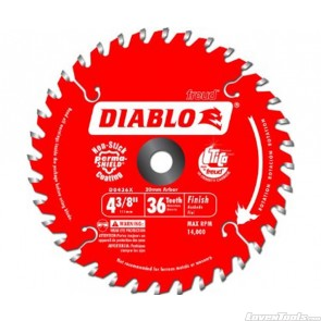 DIABLO 4-3/8 in. 36 Tooth Finishing Saw Blade D0436X