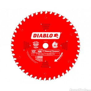 DIABLO 12 in. x 44 Tooth General Purpose Saw Blade D1244X