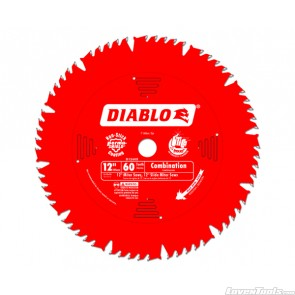 DIABLO 12 in. x 60 Tooth Combination Saw Blade D1260X