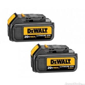 DeWALT DCB200 Battery x2 18V / 20V 3.0Ah Cordless DCB200-2