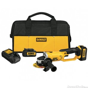 DeWALT DCG412 Angle Grinder 20V Cordless DCG412L2 Kit