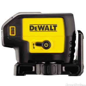 DeWALT Self Levelling Laser Point 5 Beam DW085 Kit