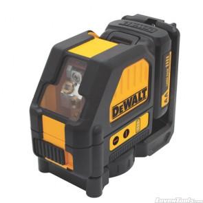 Dewalt DW088LR 12V MAX Red Cross Line Laser DW088LR