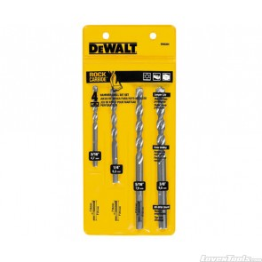 DeWALT 4pc Masonry Bit Set DW5204