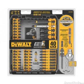 DeWALT Impact / Screw Driver Bits Set 40pc DWA2T40IR