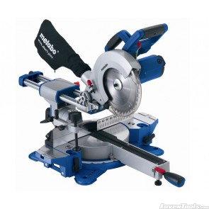 Metabo Corded 1500W Laser Slide 216mm Compound Mitre Saw KGS216
