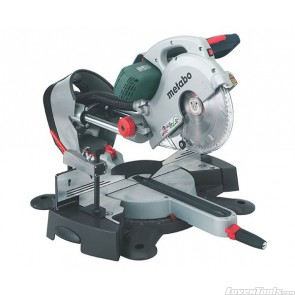 Metabo Corded 2000W Laser Slide 254mm Compound Mitre Saw KGS254 Plus