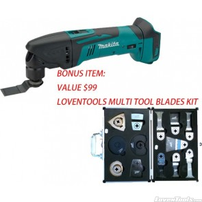 Brand New Makita Cordless 18V Multi-Tool With Blade Kit LXMT02