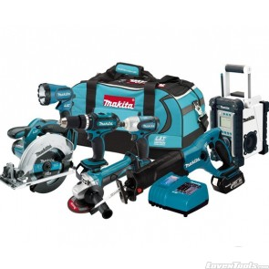 Makita Cordless 18V 7-Tool LXT702 Combo Kit