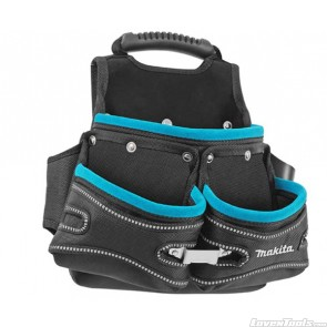 Makita 3 Pocket Fixings Pouch Rubber P-71766