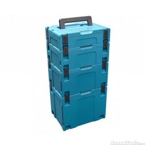 Makita 197200-4 Stackable Case 4 Piece Set