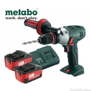 Metabo Cordless 18V Impact Drill & Screwdriver 4.0Ah SB18LTX Kit