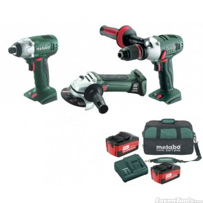 Metabo Cordless 18V 3-Piece 4.0Ah SBLTX-SSD-W18 Combo Kit