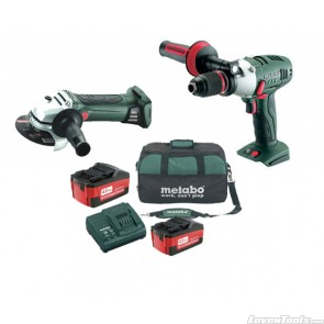 Metabo Cordless 18V 2-Piece 4.0Ah SBLTX+WLTX Combo Kit