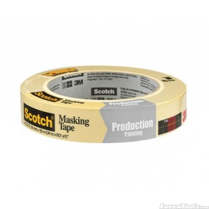 3M Scotch 24mm x 55mm Masking Tape for Production Painting 2020-24A