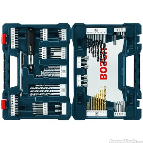 Bosch 91-Piece Drill and Drive Bit Set MS4091