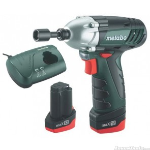 Metabo Cordless 10.8V Drill Power Impact 12 1.5Ah PI12 Kit