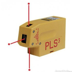 PLS3 1/4-Inch at 30M Self Leveling 3-Point Laser 60523