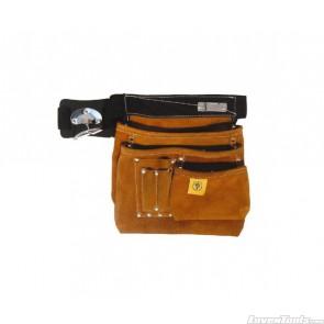 Leather Nail Bag 6 Pocket SJ-L45