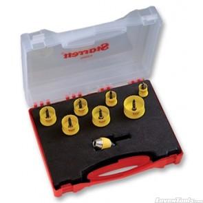 Starrett Cordless Holesaw Kit 16,20,25,25,29,30,32,38 KCSC2000G