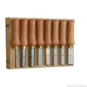 Tooline 8 piece 65 MN Wood Chisel Set TLA220