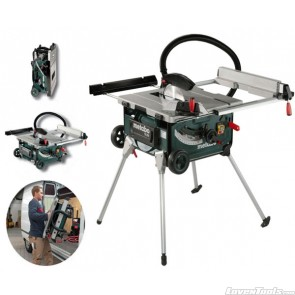 Metabo Corded 2000W Building Trade Table Saw TS254