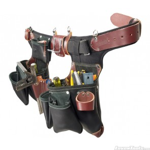Adjust-to-Fit™ Green Building™ Tool Belt Set -  Black B9588