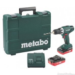 Metabo Cordless BS 18 Li - SSD 18 1.3  ( 2 x 1.3 Ah Batteries) BS18L Kit