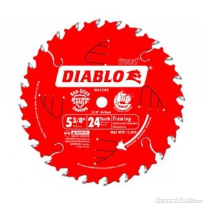 DIABLO 5-3/8 in. 24 Tooth Framing Saw Blade D0524X