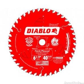 DIABLO 6-1/2 in. 40 Tooth Finishing Saw Blade D0641X