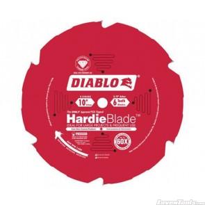DIABLO 10 in. x 6 Tooth (PCD) Fiber Cement HardieBlade D1006DH