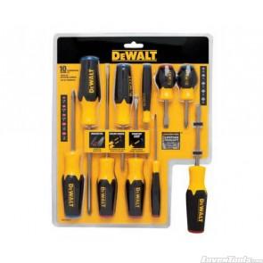 DeWALT 10pc Screwdriver Set DWHT62513