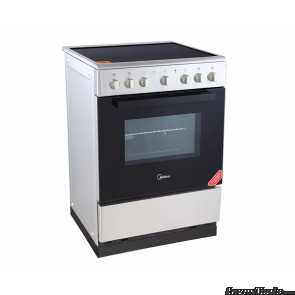 Midea 24DME4R109 Free standing Ceramic cooker/Over Stainless Steel 24D