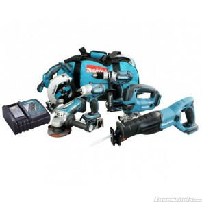 Makita Cordless 18V 3.0Ah Lithium-Ion 6-Tools LXT608 combo