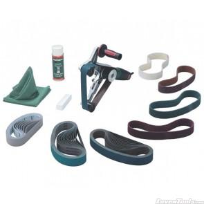Metabo Corded 1200W Electronic Pipe Belt Sander RBE12-180 MT610 Set