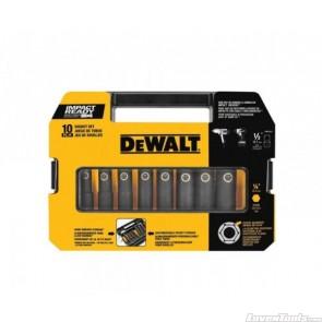 "DeWALT 10pc 1/2"" Drive Socket Set DW22812"