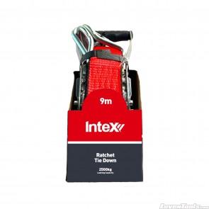 INTEX Ratchet Tie Down 2500kg W.l.l 50mm x 9m RT502500