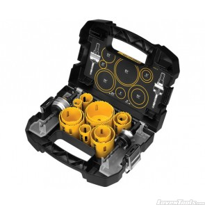DeWALT 14pc Master Hole Saw Kit D180005