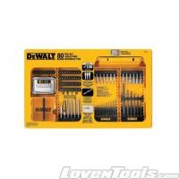 DeWALT DW2587 80-Piece Pro Drill & Screwdriver Bits Set DW2587