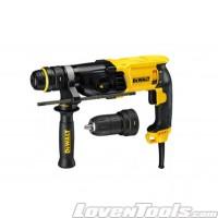 Dewalt D25144K 900w 3 Mode 2kg SDS Plus Rotary Hammer Drill DIS
