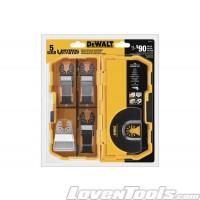 DeWALT Oscillating 5-Piece DWA4216