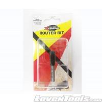 Fox & Gunn BLU-MOL TCT ROUTER BIT 8MM STR 2FL