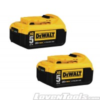 DeWALT 20V MAX Li-Ion Battery Pack 5.0Ah